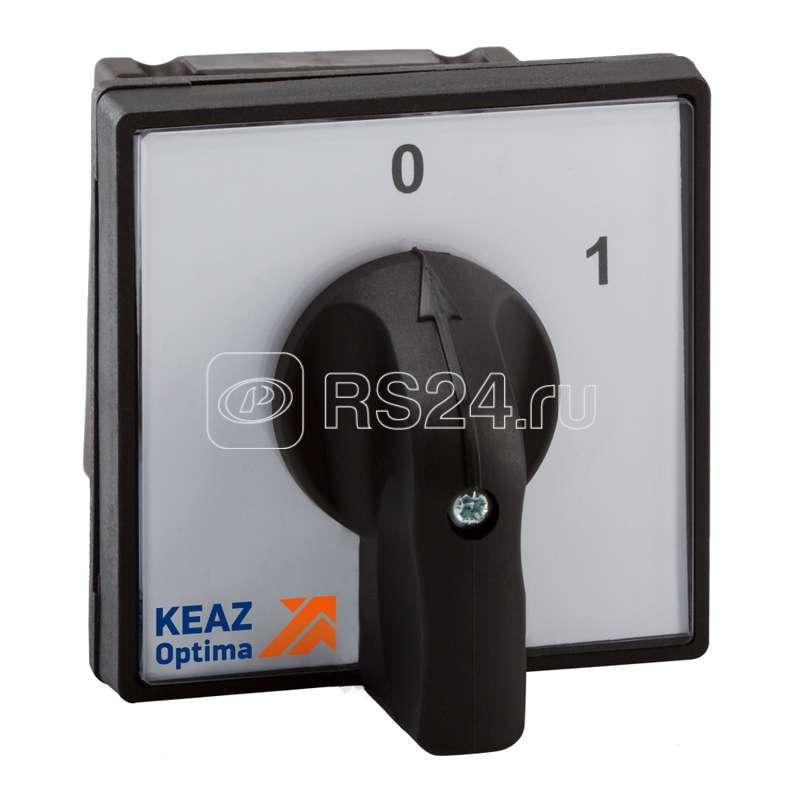 Переключатель кулачковый OptiSwitch 4G16 91 OU R114 КЭАЗ 238851 купить в интернет-магазине RS24
