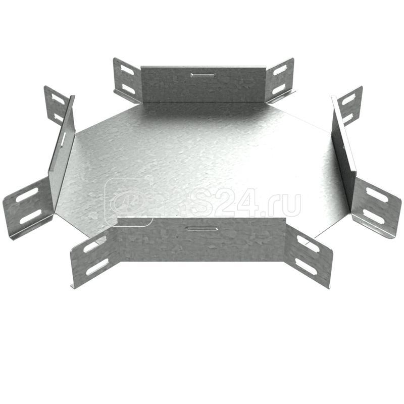 Ответвитель для лотка Х-образ. 100х150 XD150 КМ LO1512