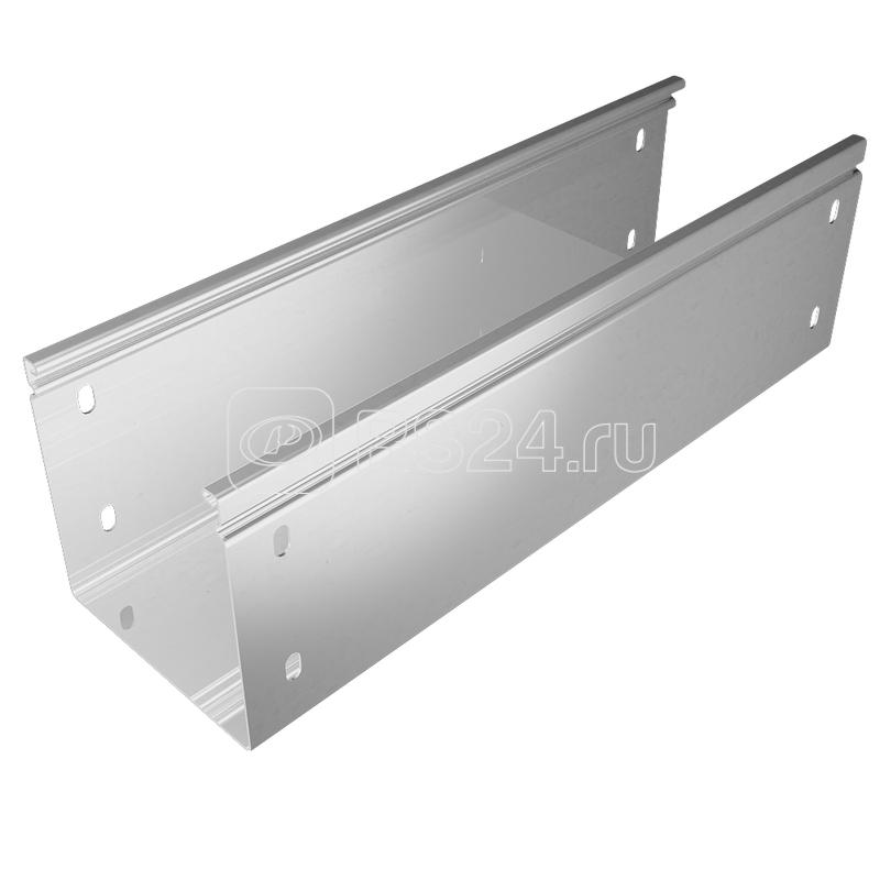 Лоток листовой неперфорированный 150х100 L3000 сталь 0.8мм СТАНДАРТ ПЛЮС LNEplus100-150-0.8-3000 HD КМ PL1161 купить в интернет-магазине RS24