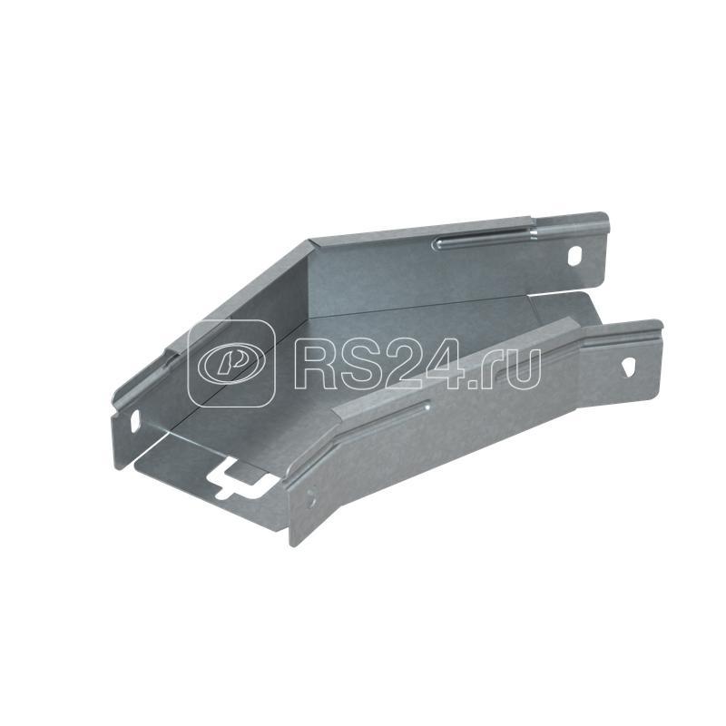Угол для лотка горизонтальный 45град. 400х50 сталь 1.0мм ПЛЮС GLplus45-50-400 HD КМ PL1379 купить в интернет-магазине RS24