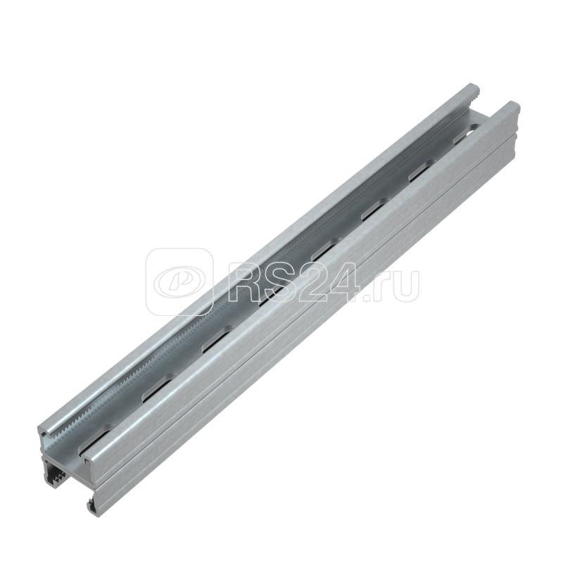 Профиль-Страт двойной 41х21 L200 сталь 2.5мм 2STPU41-21-200 КМ LO13448 купить в интернет-магазине RS24