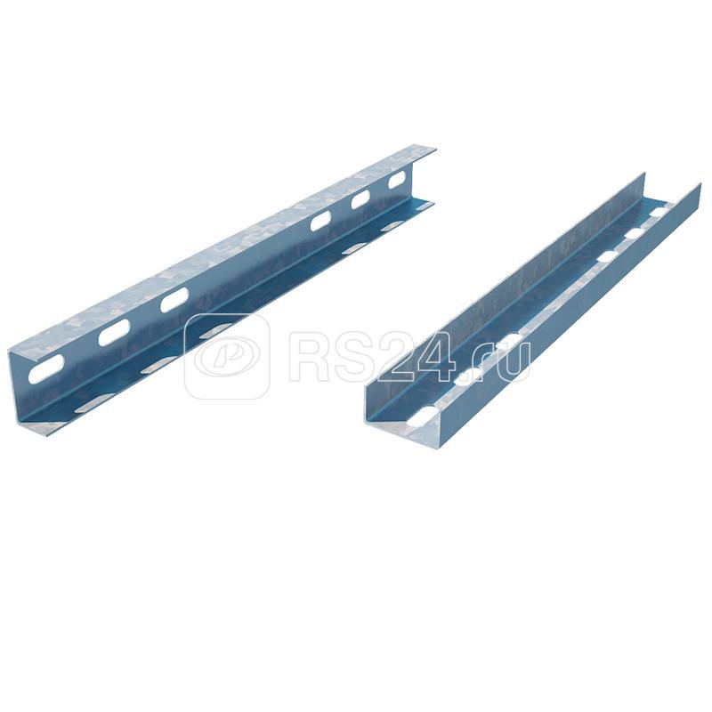 Соединитель швеллера 40х80 сталь 1.5мм SLP40-80-600 КМ LO8619 купить в интернет-магазине RS24