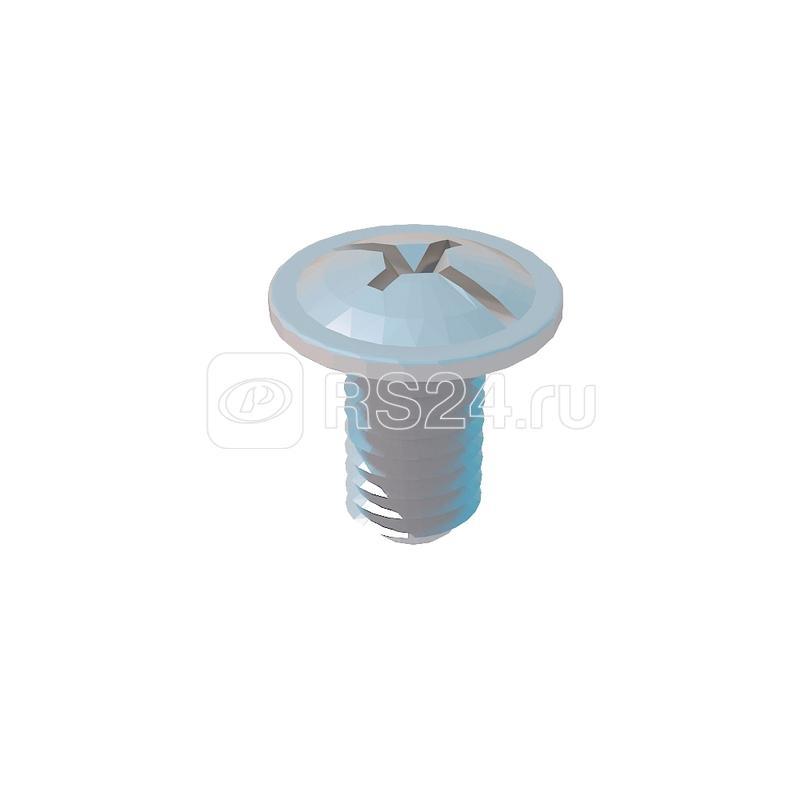 Винт специальный 6х10 DIN7985 V6-10 INOX A2 сталь (уп.200шт) КМ LO7350 купить в интернет-магазине RS24