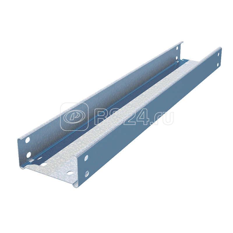 Лоток листовой неперфорированный 200х100 L3000 сталь 0.8мм СТАНДАРТ LNE100х200х0.8 оцинк. КМ LA0176 купить в интернет-магазине RS24