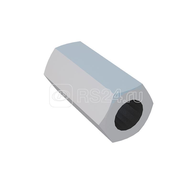 Гайка соединительная М8 DIN6334 MS8 INOX A2 сталь (уп.50шт) КМ LO12878 купить в интернет-магазине RS24