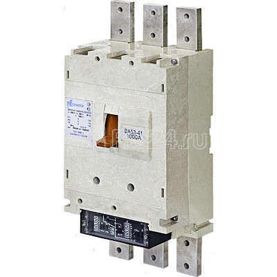 Выключатель автоматический 3п 400А 33.5кА ВА55-41-330010-20 УХЛ3 660В Контактор 1027933 купить в интернет-магазине RS24