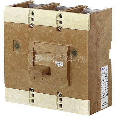 Выключатель автоматический 3п 630А ВА51-39-341850-00 УХЛ3 660В с РП10-15 со схемой распайки доп. сборки единиц к разъему аналогичному ВА50-41-1х5250 Контактор 1038829 купить в интернет-магазине RS24