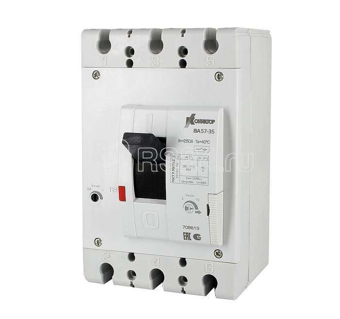 Выключатель автоматический 3п 31.5А ВА57-35-340010 Контактор 708604 купить в интернет-магазине RS24