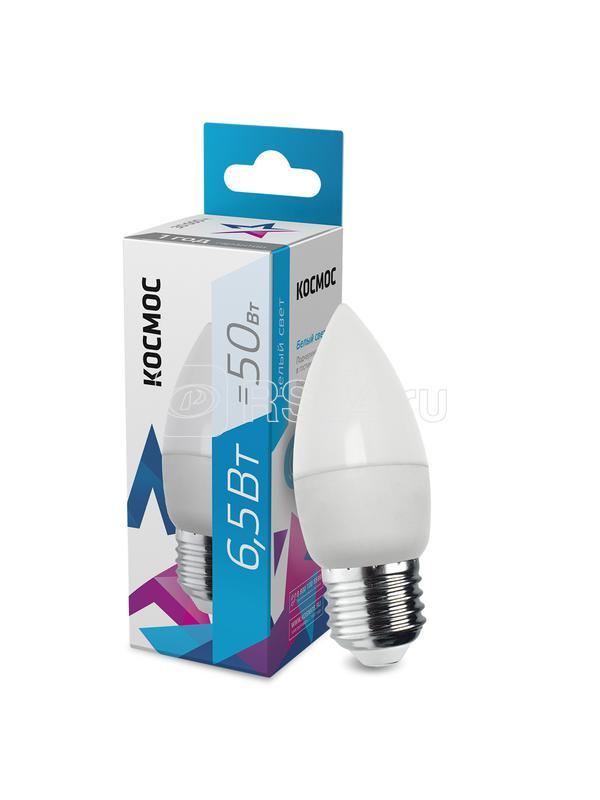 Лампа светодиодная CN 6.5Вт 220В E27 4500К Космос LkecLED6.5wCNE2745