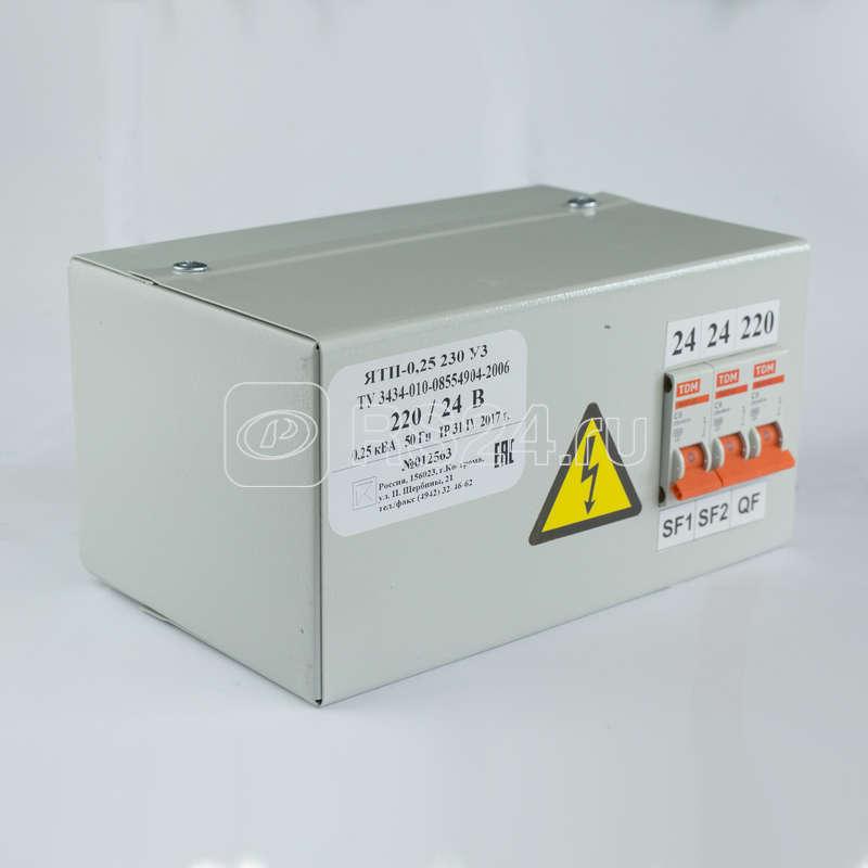 Ящик с понижающим трансформатором ЯТП 0.25 220/12В (3 авт. выкл.) Кострома ОС0000002359 купить в интернет-магазине RS24