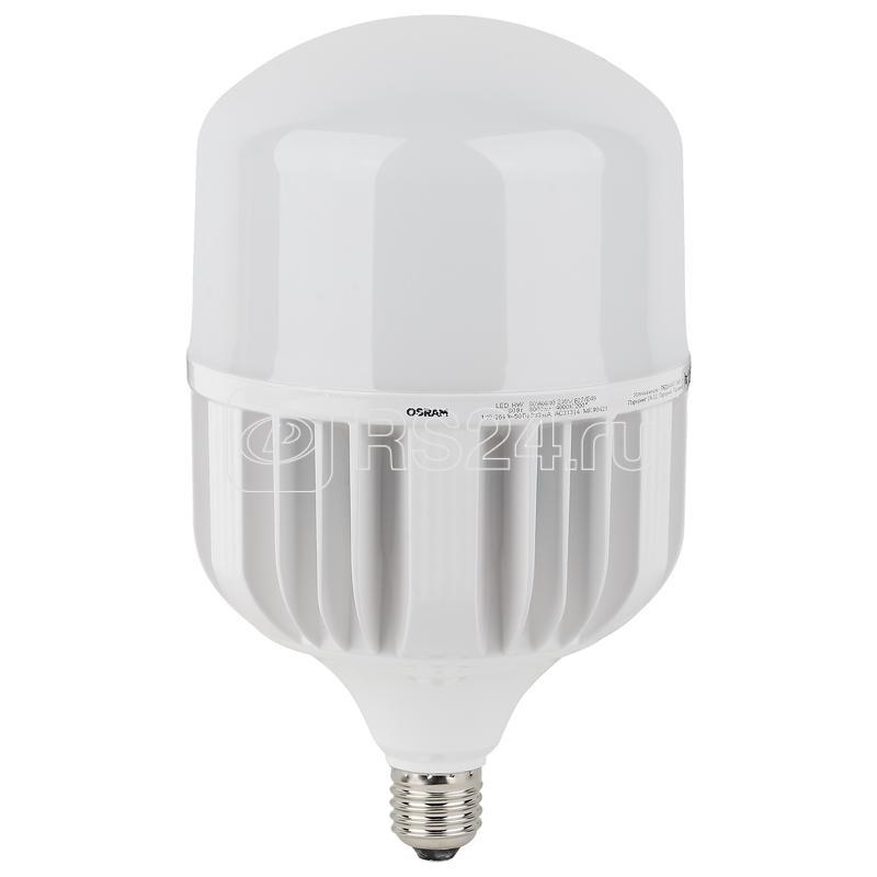 Лампа светодиодная LED HW T 80Вт (замена 800Вт) матовая 4000К нейтр. бел. E27/E40 8000лм угол пучка 200град. 140-265В PF>/=09 OSRAM 4058075576933 купить в интернет-магазине RS24
