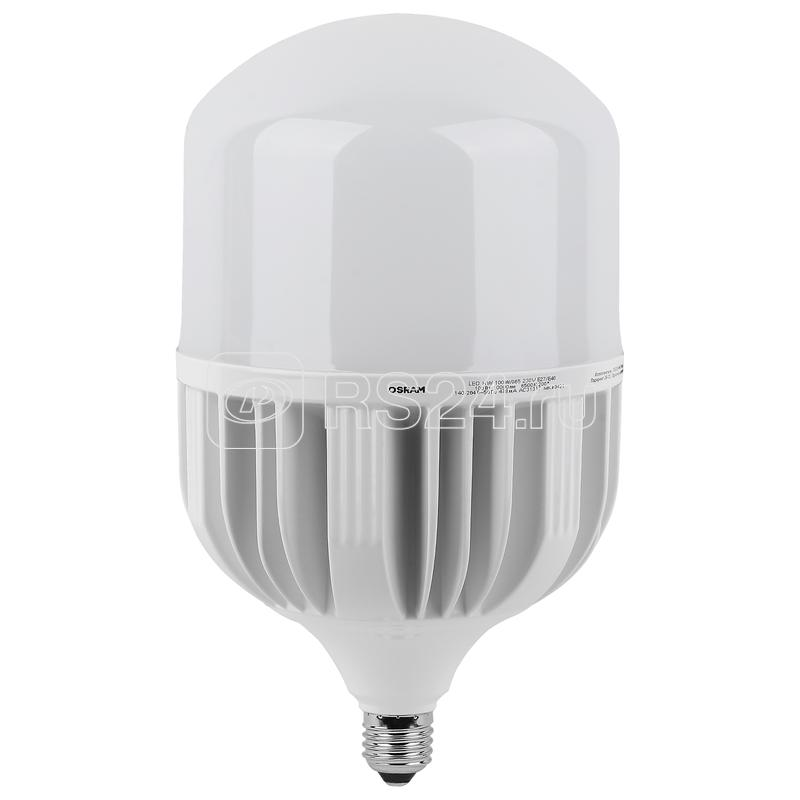 Лампа светодиодная LED HW T 100Вт (замена 1000Вт) матовая 6500К холод. бел. E27/E40 10000лм угол пучка 200град. 140-265В PF>/=09 OSRAM 4058075577015