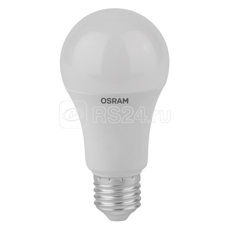 Лампа светодиодная LED Antibacterial A 10Вт (замена 100Вт) матовая 6500К холод. бел. E27 1055лм угол пучка 200град. 220-240В бактерицид. покр. OSRAM 4058075561090