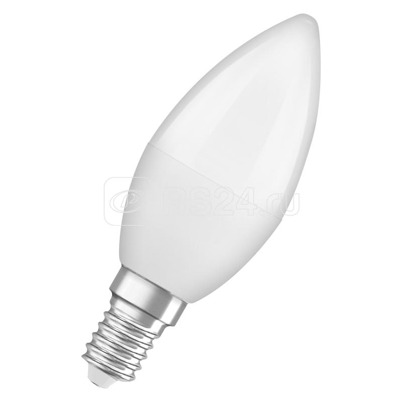 Лампа светодиодная LED Antibacterial B 7.5Вт (замена 75Вт) матовая 4000К нейтр. бел. E14 806лм угол пучка 220град. 220-240В бактерицид. покр. OSRAM 4058075561557 купить в интернет-магазине RS24