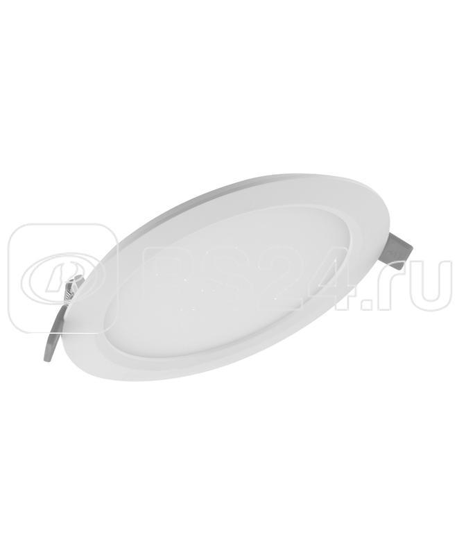 Светильник светодиодный Downlight SLIM ROUND тонкий ДВО 24Вт 4000К 1920Лм IP20 ECO CLASS бел. LEDVANCE 4058075154889