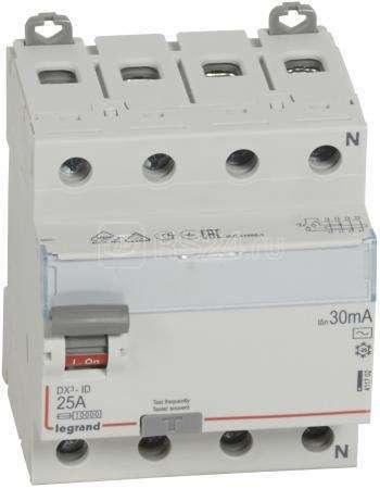 Выключатель диф. тока 4п 25А 30мА тип AC DX3 Leg 411702 купить в интернет-магазине RS24