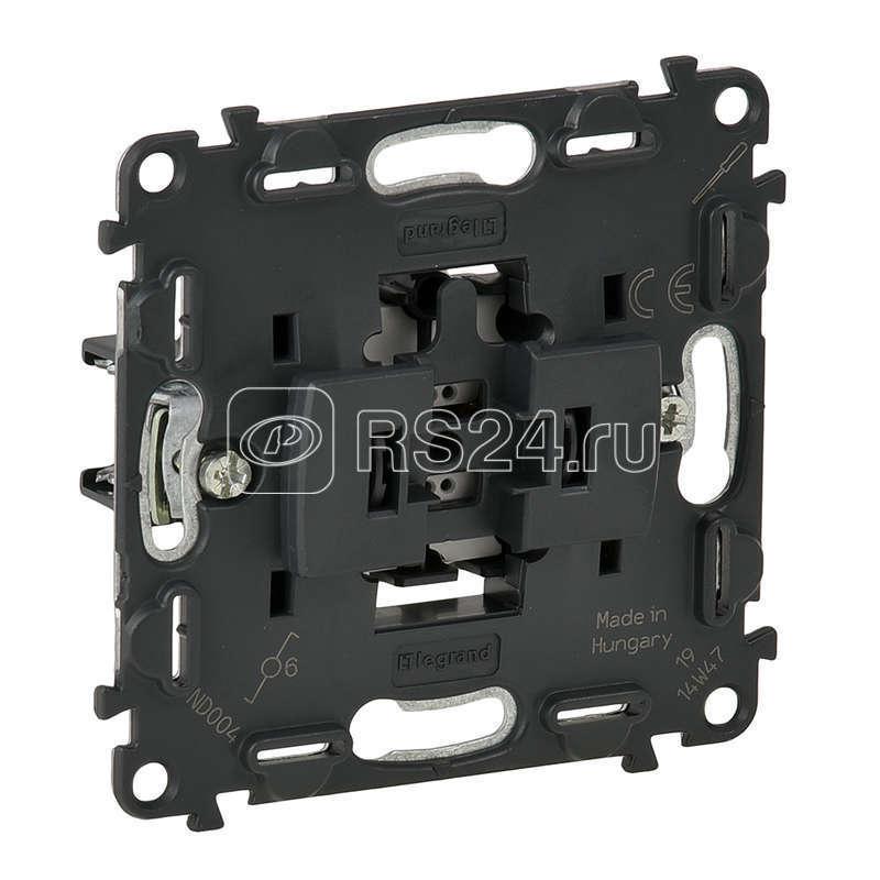 Механизм переключателя Valena In'matic 10АХ 250В безвинтовые зажимы Leg 752016 купить в интернет-магазине RS24