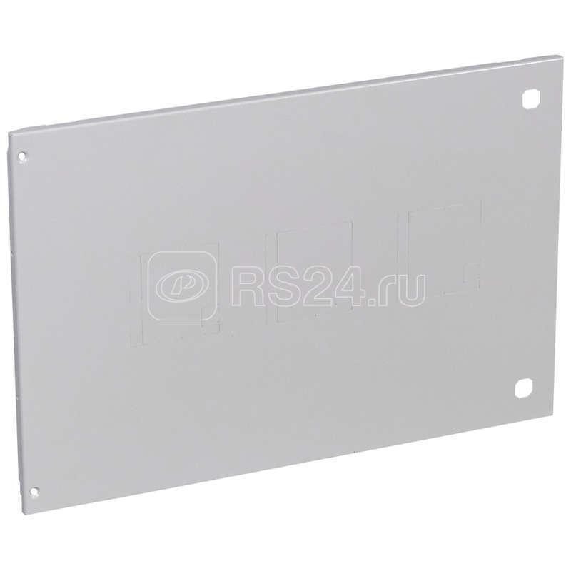 Пластина лицев. для DPX250/630 H-400мм XL3 800 метал. Leg 020970 купить в интернет-магазине RS24