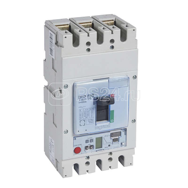 Выключатель авт. 3п 630А DPX3 630 100кА SG Leg 422170 купить в интернет-магазине RS24