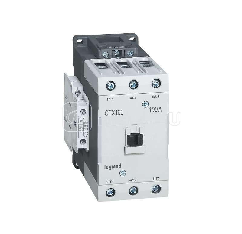 Контактор CTX-3 3P 100А 2НО 2HЗ =24В Leg 416221 купить в интернет-магазине RS24