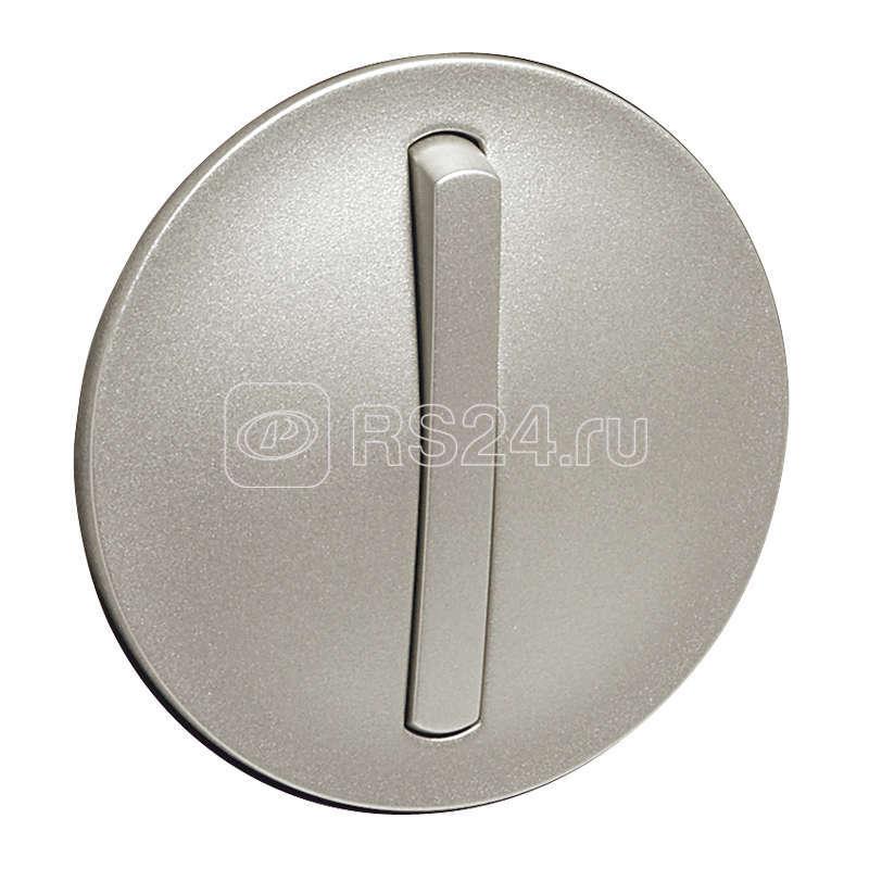 Панель лицевая Celiane для выкл. 1-кл. slim с подсвет. титан Leg 065103 купить в интернет-магазине RS24