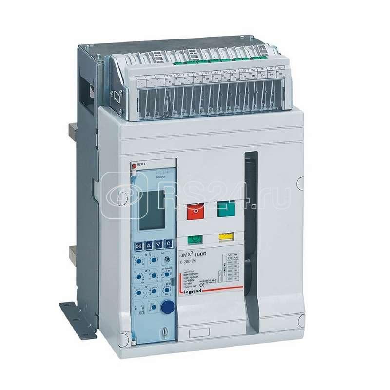 Выключатель автоматический 3п DMX3 1600 800А 50кА фикс исп. Leg 028025 купить в интернет-магазине RS24