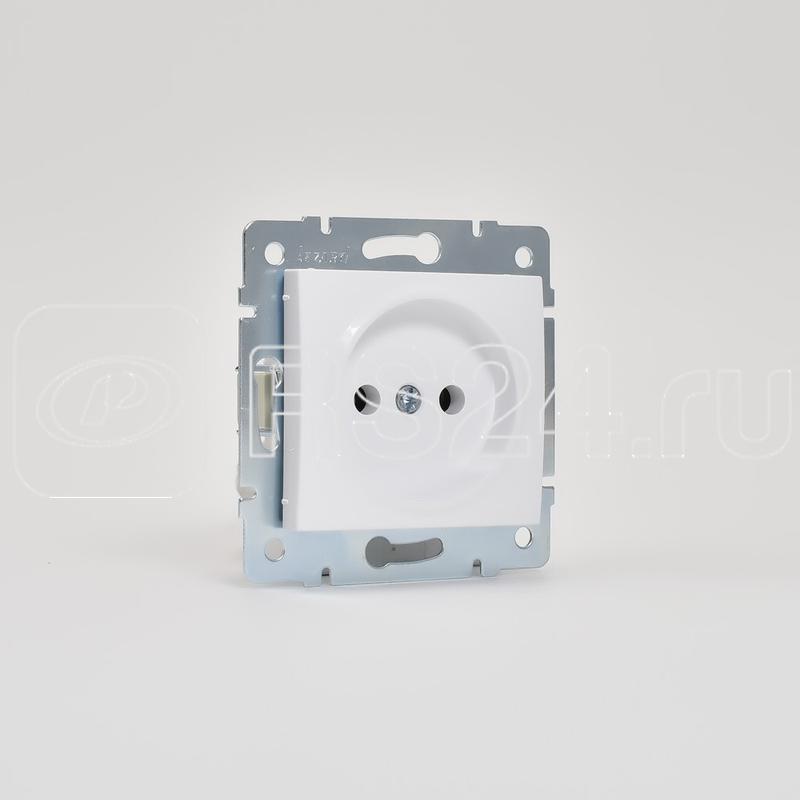 Механизм розетки 1-м СП KARINA 16А IP20 без заземл. термопласт бел. LEZARD 707-0288-121B купить в интернет-магазине RS24