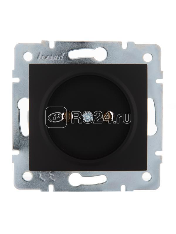 Механизм розетки 1-м СП KARINA 16А IP20 без заземл. термопласт черн. бархат Lezard 707-4288-121B купить в интернет-магазине RS24