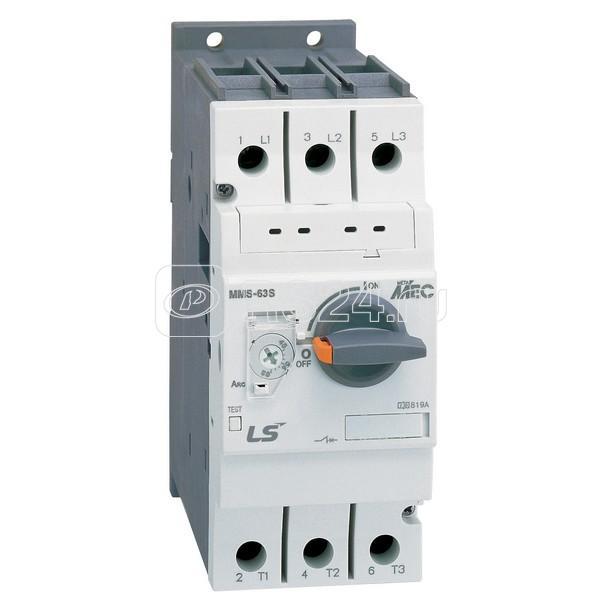 Автомат защиты двигателя MMS-63S 63А LS Electric 706000900 купить в интернет-магазине RS24