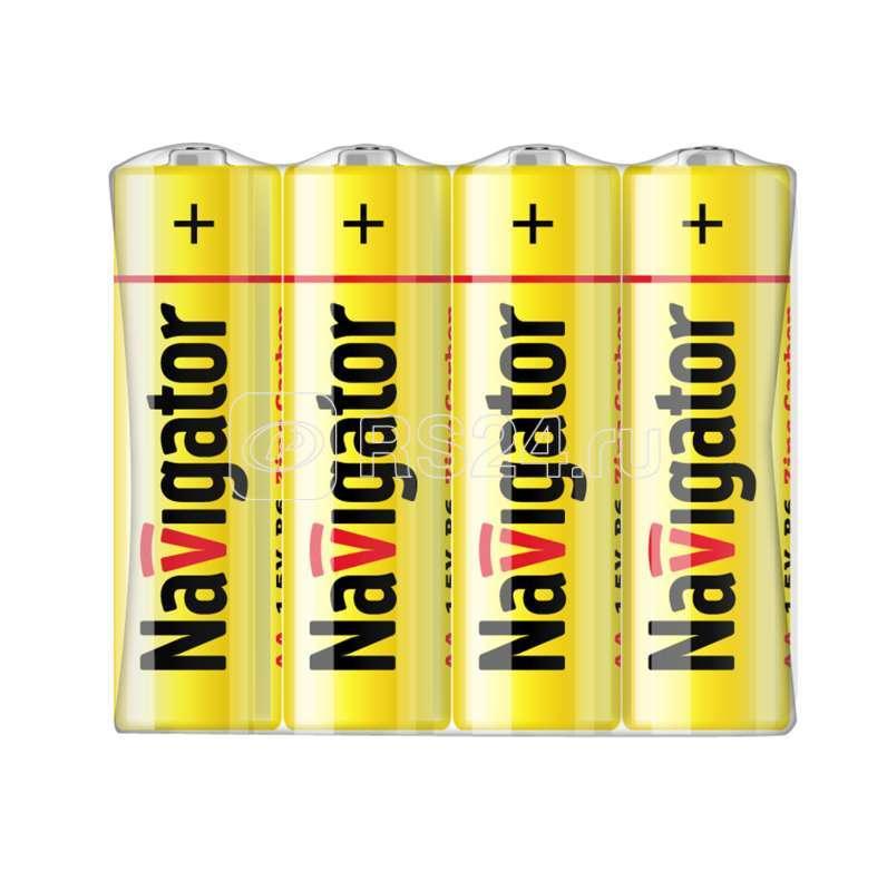 Элемент питания солевой 94 759 NBT-NS-R6-SH4 (шринка 4шт) Navigator 94759