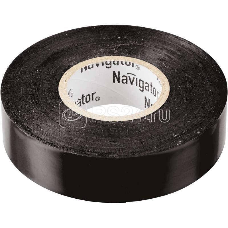 Изолента ПВХ 19мм (рул.20м) черн. NIT-A19-20/BL Navigator 71110