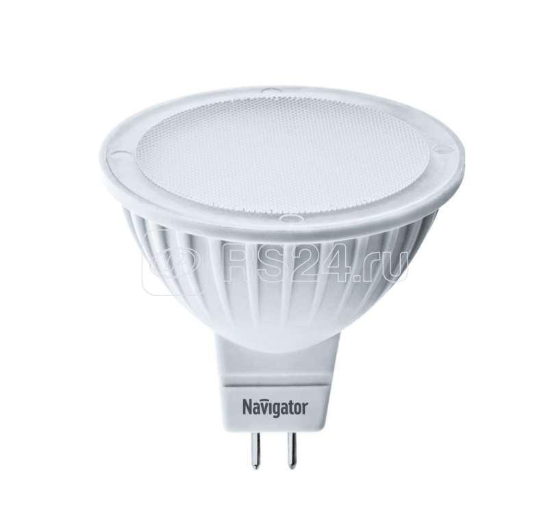Лампа светодиодная 94 255 NLL-MR16-3-230-3K-GU5.3 3Вт 3000К тепл. бел. GU5.3 225лм 220-240В Navigator 94255