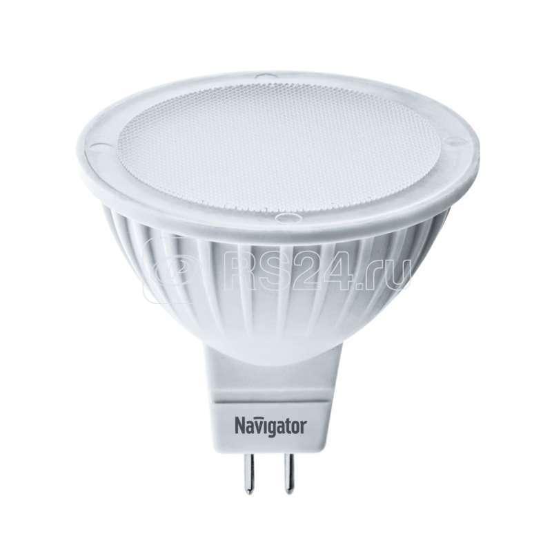 Лампа светодиодная 94 129 NLL-MR16-5-230-4K-GU5.3 5Вт 4000К белый GU5.3 380лм 170-260В Navigator 94129