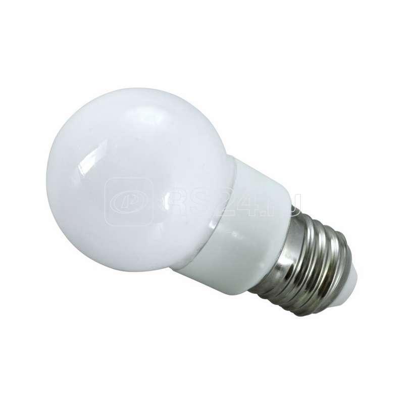 Лампа светодиодная 9LED d-50 SMD3528 5Вт шар E27 220В многоцв. Neon-Night 405-512 купить в интернет-магазине RS24