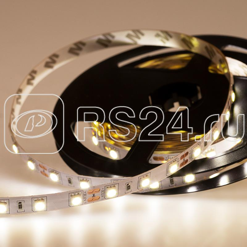 Лента светодиодная SMD5050 60LED/м 14.4Вт/м 12В IP23 бел. (уп.5м) NEON-NIGHT 141-465 купить в интернет-магазине RS24