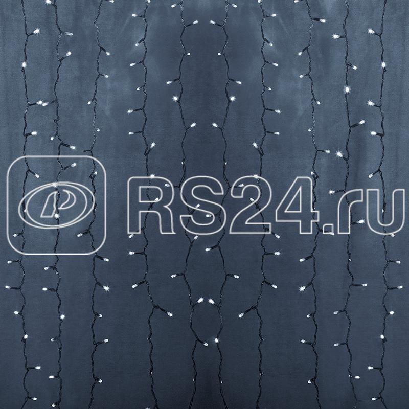Гирлянда Дождь ПЛЕЙ-ЛАЙТ 2х9м фиксинг бел. силикон. провод 220В NEON-NIGHT 235-195 купить в интернет-магазине RS24
