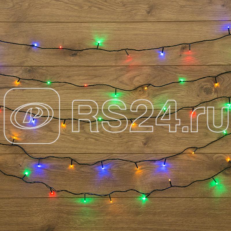 Гирлянда ТВИНКЛ ЛАЙТ LED (с контроллером 8 режимов) 4м 25LED 2Вт 220В IP20 мульти. NEON-NIGHT 303-019 купить в интернет-магазине RS24