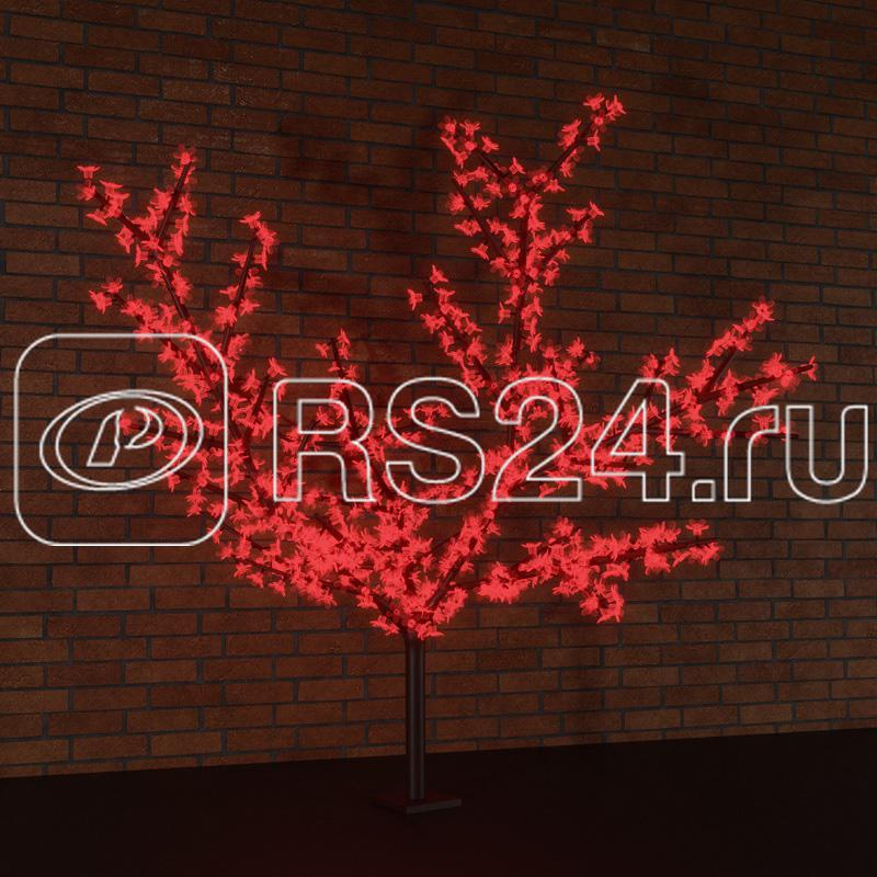Дерево светодиод. Сакура 240см 1728LED 210Вт 24В IP54 красн. NEON-NIGHT 531-122 купить в интернет-магазине RS24