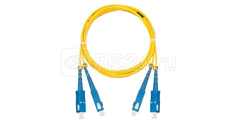 Патч-корд NMF-PC2S2C2-SCU-SCU-001 волоконно-оптический соед. одномод. 9/125мкм стандарта OS2 SC/UPC-SC/UPC двойн. LSZH нг(В)-HFLTx 2мм жел. 1м NIKOMAX NMF-PC2S2C2-SCU-SCU-001 купить в интернет-магазине RS24