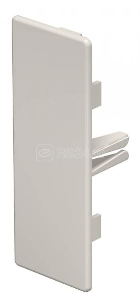 Заглушка торцевая для кабель-канала 40х110мм ПВХ WDK HE40110CW крем. OBO 6162622 купить в интернет-магазине RS24