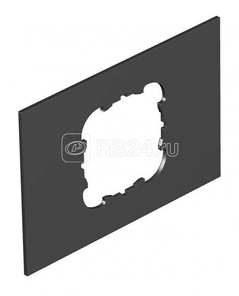 Крышка для напол. бокса Telitank на 1 устройство EK 110х77мм ПВХ T4B P2S 9011 черн. OBO 7408244 купить в интернет-магазине RS24