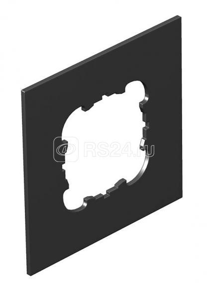 Крышка для напол. бокса Telitank на 1 устройство EKR полиамид T8NL P1 9011 черн. OBO 7408444 купить в интернет-магазине RS24