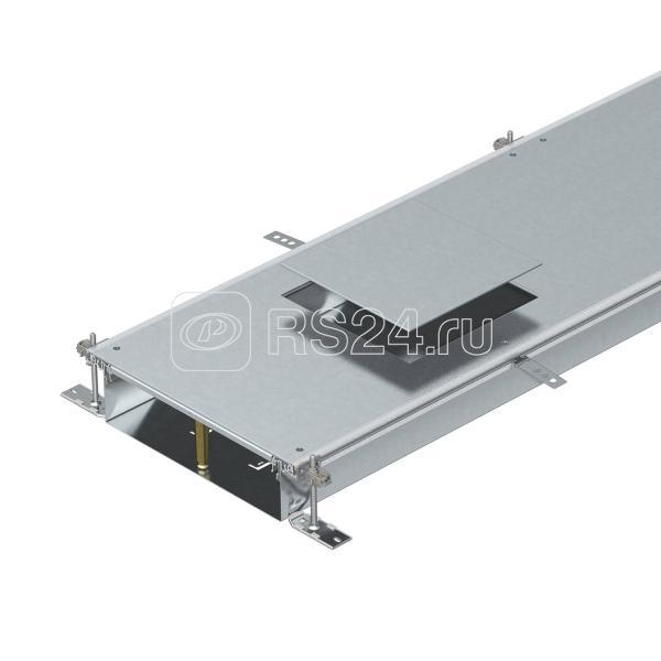 Секция кабель-канала для GES9 2400х400х100мм OKA-W40010050D9 сталь (дл.2.4м) OBO 7424740 купить в интернет-магазине RS24