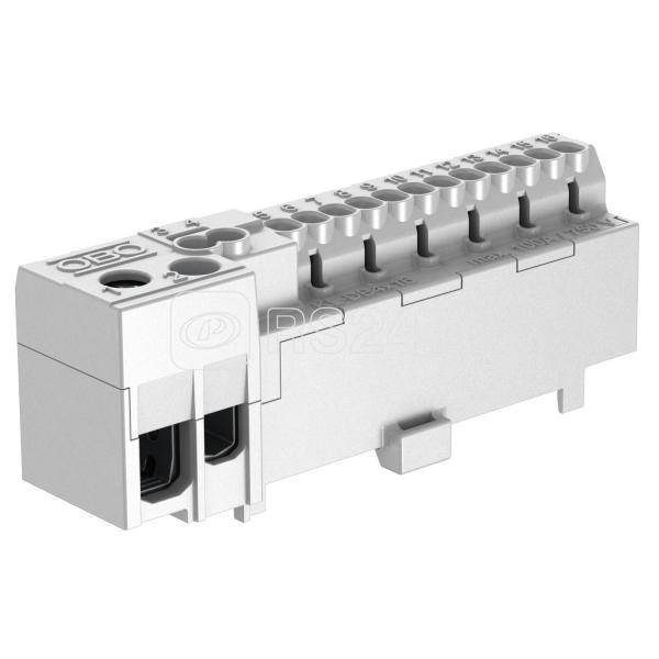 Клемма быстрозажимная 12 контактов KL-DBP12х02GR OBO 2016270 купить в интернет-магазине RS24
