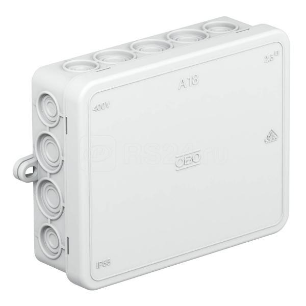 Коробка распределительная 125х100х40мм A 18 OBO 2000410 купить в интернет-магазине RS24