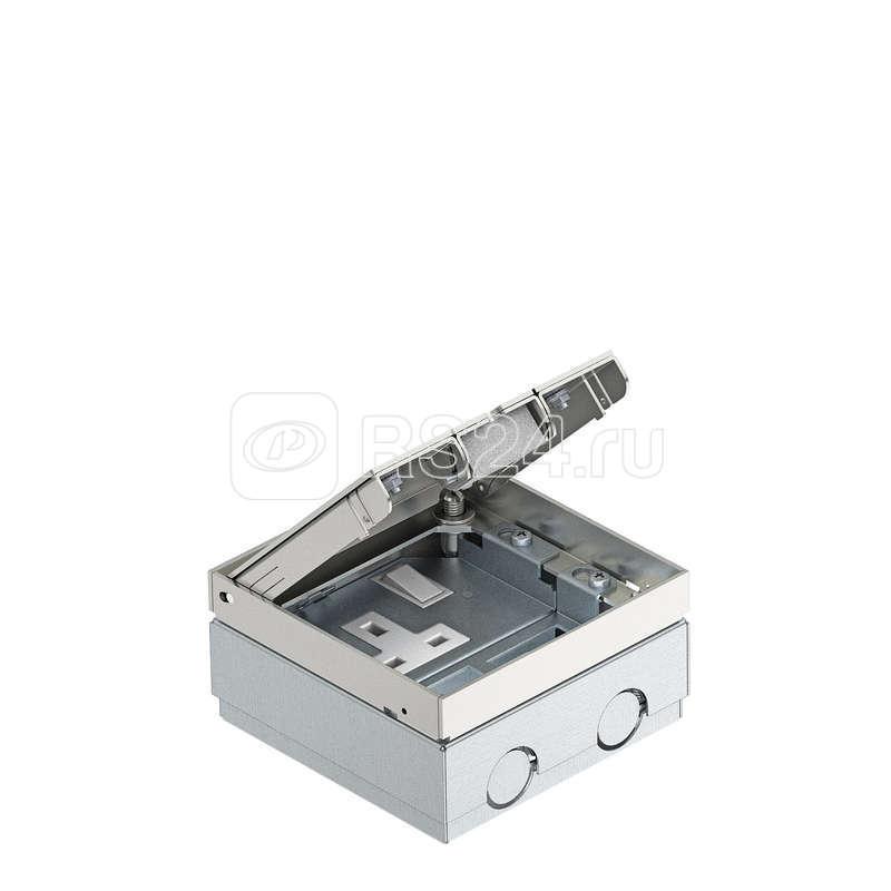 Лючок укомплектованный с розеткой BS 125х125х75мм сталь GE 2 V B OBO 7368393 купить в интернет-магазине RS24