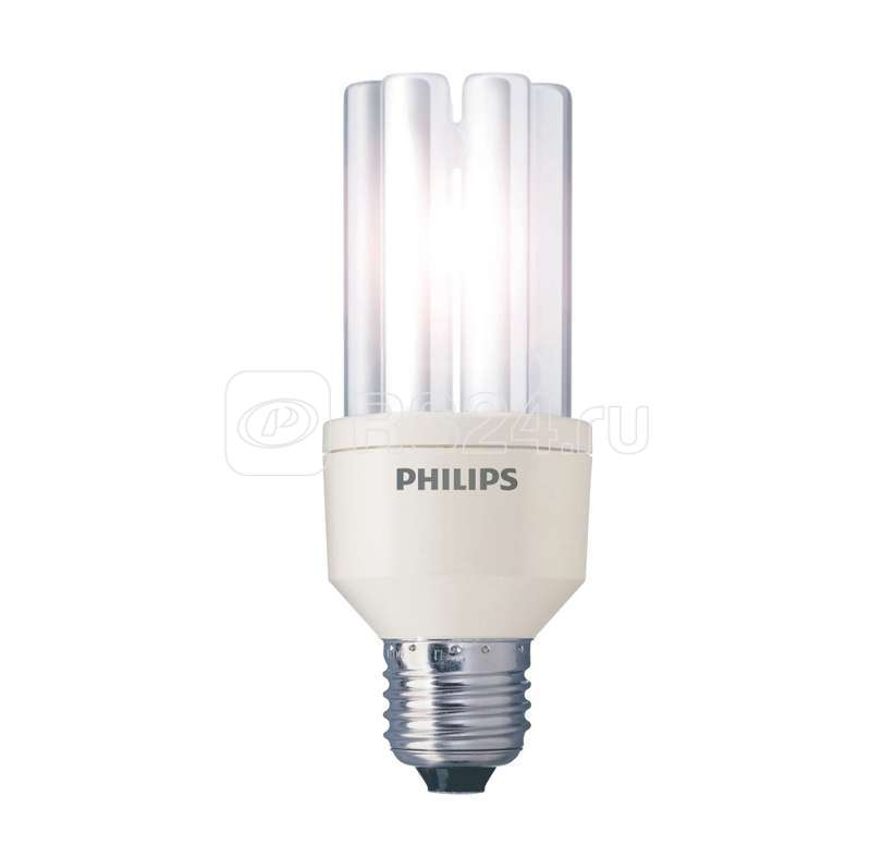 Лампа люминесцентная компакт. TORNADO ES 8W/827 8Вт E14 2700К WW PHILIPS 871016321448110 купить в интернет-магазине RS24