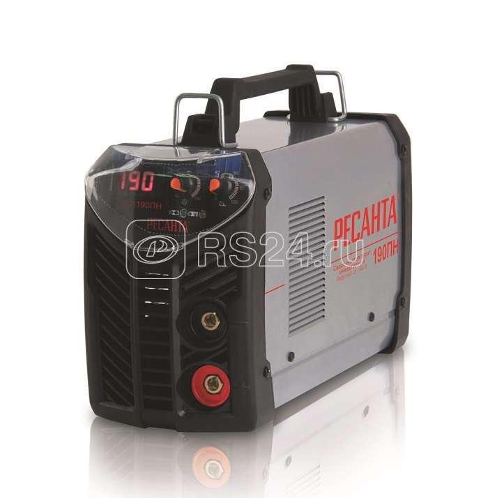 Инвертор сварочный САИ-190ПН 190А d5 140-240В IP21 форсаж дуги Ресанта 65/19 купить в интернет-магазине RS24