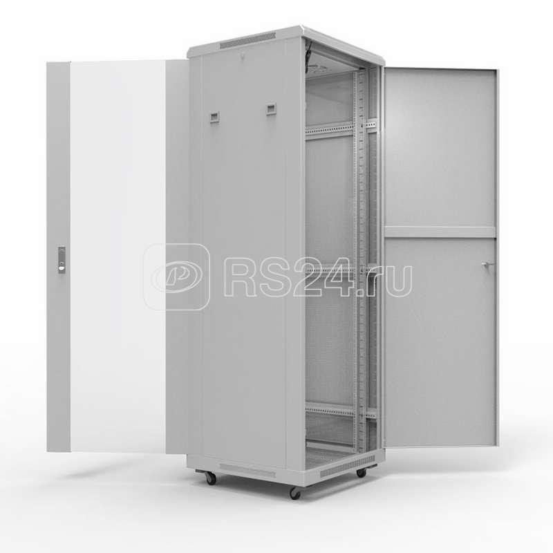 Шкаф настенный 19дюйм Standart 47U 600х800мм передняя дверь стекло задняя дверь металл RAL7035 Rexant 04-2303 купить в интернет-магазине RS24