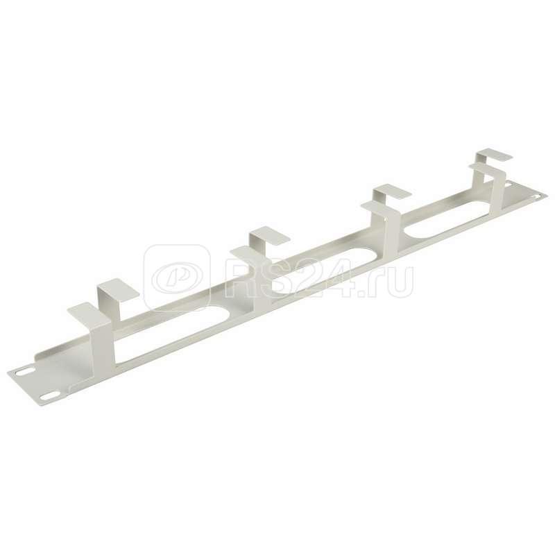 Органайзер кабельный горизонтальный 1U металл Rexant 04-2642 купить в интернет-магазине RS24